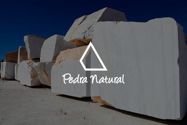 marca logotipo y página web para Pedranatural
