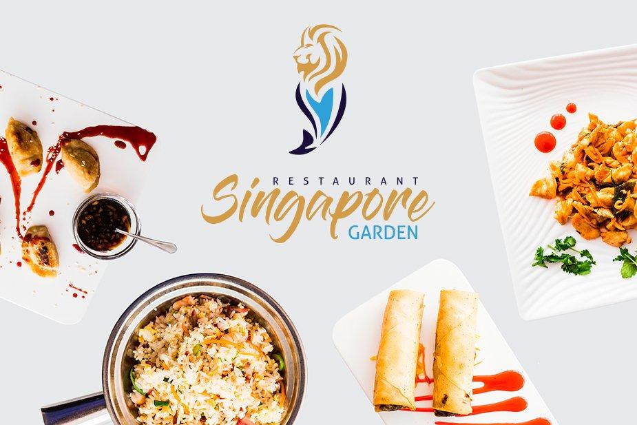 Página web, logo, fotografía y redes sociales Singapore Garden