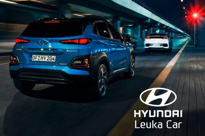 Página web landing page para Hyundai Leuka Car