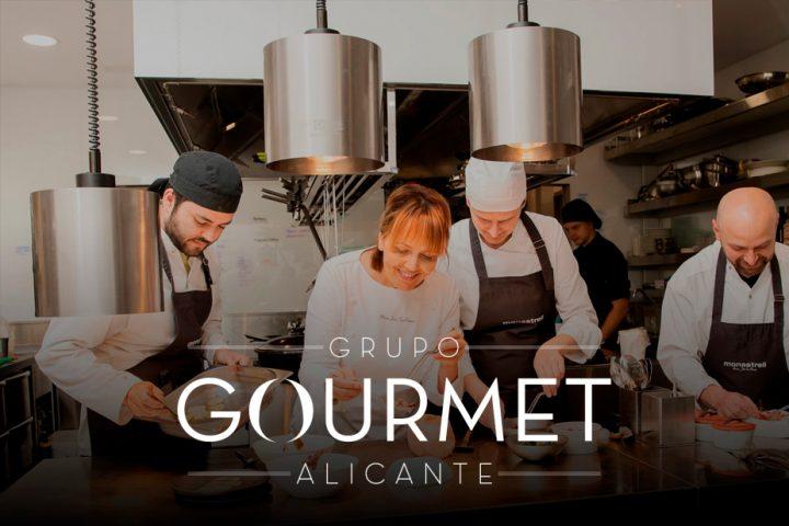 página web y mantnimiento web para Grupo Gourmet