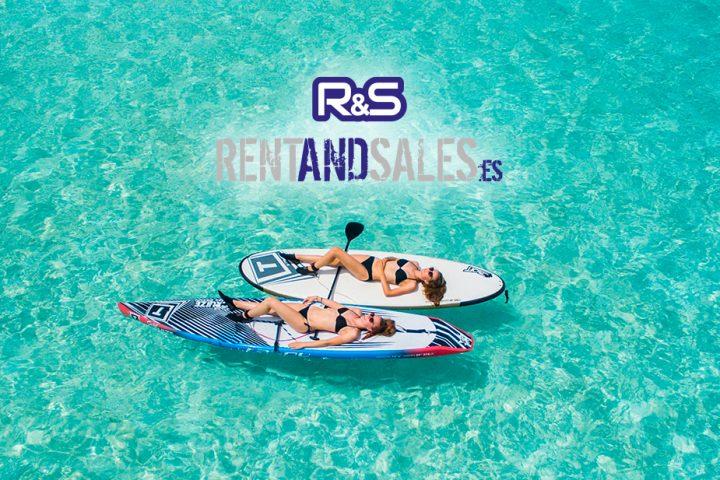 Página web tienda online Rent and Sales
