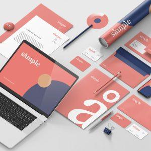 Diseño de logotipos e identidades corporativas