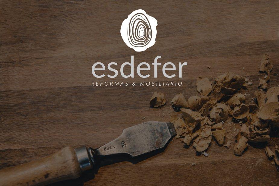 Imagen de marca, logotipo y pagina web para Esdefer