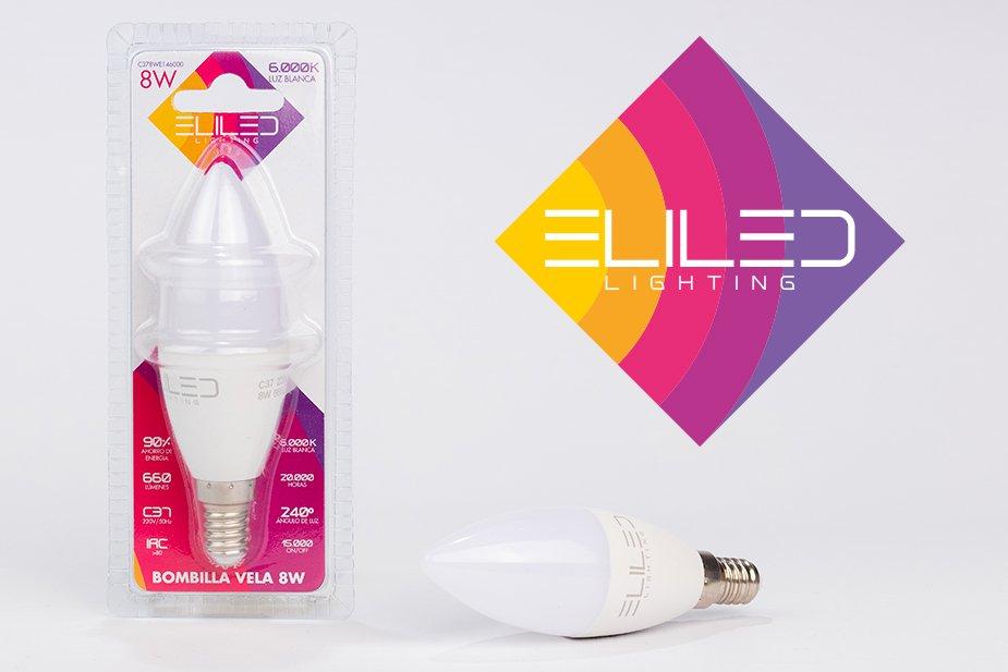 Naming, imagen de marca, logotipo, packaging y fotografía de producto Eliled